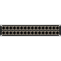 My Custom Shop 32XLRM 32-Port XLR Male Patch Panel w/ Neutrik NC3MD-L-1 Connectors - 2RU