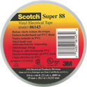 3M Scotch Super 88 Heavy Duty Grade Vinyl Electrical Tape 3/4In.x44 Ft