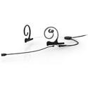 DPA 4288-DC-I-B00-L CORE Directional Flex In-Ear Headset Microphone - 120mm Boom - Black - MicroDot Only - Single In-Ear