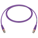 Laird 4505R-B-B-VT-150 12G-SDI/4K UHD Single Link BNC Cable - 150 Foot Violet
