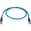 Laird RG6 4694R-B-B-LB-175 12G-SDI/4K UHD Single Link BNC Cable - 175 Foot Light Blue