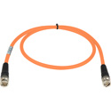 Laird RG6 4694R-B-B-OE-125 12G-SDI/4K UHD Single Link BNC Cable - 125 Foot Orange