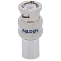 Belden 4794RBUHD3 B100 12 GHz BNC Crimp Connector - 100 Pack