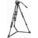 Manfrotto 504HD-546GBK Midi Twin System (GS) Tripod