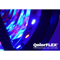 City Theatrical 5050-24-Q-RGBA-60-5-20-1 QolorFLEX Quad Chip RGBA LED Light Tape