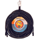 Perfect Pair AC Power & XLR Combo Cable for Powered Speakers 50 Ft.