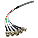 Connectronics General Purpose 5 Channel BNC Cable 6Ft