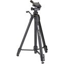 Sunpak 620-060 Aluminum Tripod with 3-Way Panhead Bubble Level and Quick Release