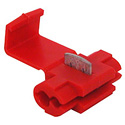 22-18AWG Crimp Terminal Red Wire Tap Splice 100 pk