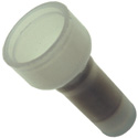 NTE 76-NFICEC22L Nylon Fully Insulated Close End Connector 22-18Awg Tin Plated Copper 50/pkg