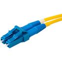 Senko 932-153-1D2 Premium 125um Singlemode 3mm Duplex Fiber LC Connector w/Blue Boot