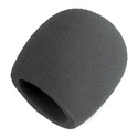Gray Foam Windscreen for all Shure Ball Type Mics