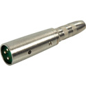 Switchcraft 384AX 1/4 Inch Female to XLR Male Audio Adapter