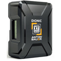Anton Bauer Dionic XT 90VM Dionic XT 90 V-Mount Lithium Ion Battery 14.1 Volts 99 w/h