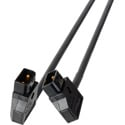 Laird AB-PWR1-01 Right Angle D-Tap/PowerTap to Right Angle D-Tap/PowerTap DC Power Cable - 1-Foot
