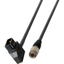 PowerTap Male to Hirose 4-Pin Male DC Power Cable - 1-Foot