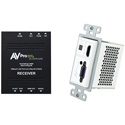 AVPro Edge AC-CXWP-VGA-70KIT VGA/HDMI Single Gang Decora Style Wall Plate HDBaseT Extender Kit - 70M HD/40M 4k- White