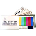 Accu-Chart AC-3/VC Set of 5 Test Charts 12.5x10 With Zippered Vinyl Case