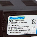 7.2V 6000Mah Li - ion battery for Panasonic CGR-D54