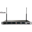 MIPRO ACT-848-DANTE-5NU Dual Channel Dante Enabled Rack Mount Wireless Receiver