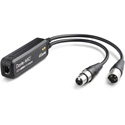 Audinate ADP-AES3-AU-2X2 Dante AVIO AES3 In/out 2x2 Adapter with RJ45 and XLR male and female