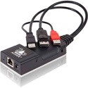 Adder ALIF101T-DP High Performance ZeroU IP KVM Dongle - Extension or Matrix of Video - Audio and USB Over Single Cable