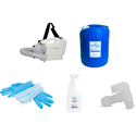 Hanover Hospital Grade Disinfectant Handheld Fogger Kit PPE