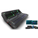 Allen & Heath AVANTIS 64 Channel - 42 Bus - Dual Full HD Touchscreens - 96kHz Digital Mixer - D Pack Included