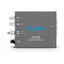 AJA 12G-AM-R-ST 12G-SDI 8-Channel AES Embedder/Disembedder with ST Fiber Rx SFP