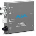 AJA 12G-AMA 12G-SDI Mini Converter with 4-Channel Balanced AudioEmbedder/Disembedder & Fiber SFP Port