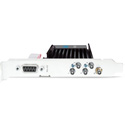 AJA Corvid CRV44-12G-R0-01 12G-SDI PCIe 3.0 x4 Ch I/O Card - Short Bracket w/ Fan - Active Cooling - with HDBNC Cables