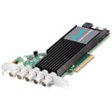 AJA Corvid CRV44-12G-R0-02 12G-SDI PCIe 3.0 x4 Ch I/O Card - Short Bracket w/ Fan - Active Cooling - HDBNC - No Cables