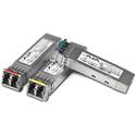 AJA FIB-2CW-2729 CWDM Fiber SFP Option - Dual TX 1271/1291 Singlemode LC Duplex