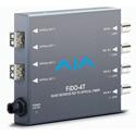 AJA FiDO-4T-MM 4-Channel 3G-SDI to Multi-Mode LC Fiber Transmitter
