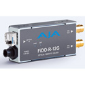 AJA FiDO-R-12G 1-Channel Single-Mode LC Fiber to 12G-SDI Receiver