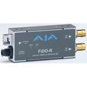 AJA FiDO-R 1-Channel Single-Mode LC Fiber to 3G-SDI Receiver with Dual SDI Outputs