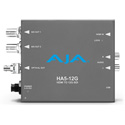 AJA HA5-12G-T-ST HDMI 2.0 to 12G-SDI Mini-Converter with Single Channel Fiber 12G ST Transmitter