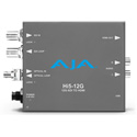 AJA Hi5-12G-R-ST 12G-SDI to HDMI 2.0 Conversion with ST Fiber Receiver
