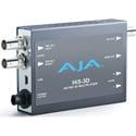 AJA Hi5-3D 3G/HD-SDI Multiplexer To HDMI 1.4a and SDI Video and Audio Converter
