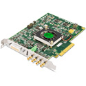 AJA KONA-4-R0-S01 4K/2K/3G/Dual Link/HD/SD 10-Bit PCIE Card with HDMI 1.4A Output - With Bracket & Cables
