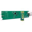 AJA OG-FIDO-T-MM 1-Channel 3G-SDI to Multi-Mode LC Fiber Transmitter - DashBoard Support