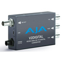 AJA V2Digital Component/Composite Analog to HD/SD-SDI Mini-Converter