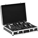 AKG 2581H00150 High-Performance Drum Microphone Set