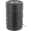 Photo of Black Waxed Nylon Cable Lacing Cord 500 Yard Roll