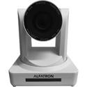 Alfatron ALF-30X-SDIW 1080P HD PTZ Camera with SDI and a 30x Zoom Lens - WHITE