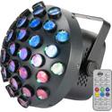 ADJ CON131 Contour Mirror-Ball LED Light Fixture with 36 Lens - 27 x 1.5W RGB LEDs