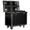 ADJ DRC MHX Rugged Road Case Fits 2 ADJ Focus Spot 6Z/Hydro Beam X2/Vizi CMY 16RX/Vizi CMY300 or Vizi BSW 300