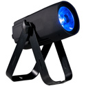 ADJ SAB686 SABER SPOT RGBW DMX-512 Compact Pinspot Light with smooth RGBW Color Mixing from 1x 15W 4-in-1 Quad LED