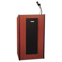 Amplivox 50 Watt Presidential Multimedia Stereo Amplified Lecturn - Mahogany