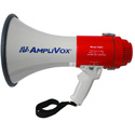 AmpliVox S602MR Mity Meg Plus Rechargeable 25 Watt Dynamic Megaphone with Microphone